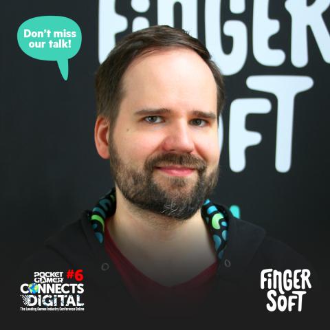 Photo of Fingersoft CFO Markus Vahtola